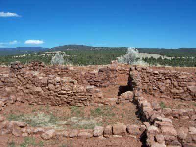 Pecos south pueblo