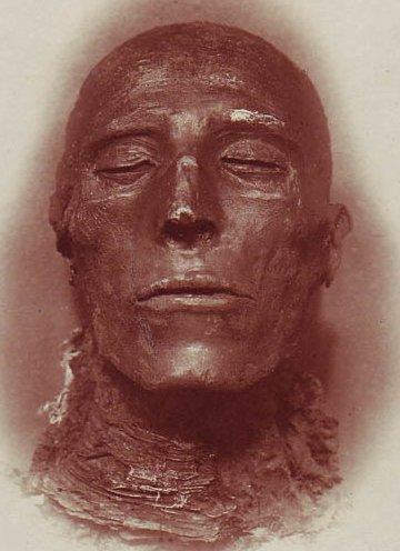 Pharaoh seti i his mummy by emil brugsch 1842 1930