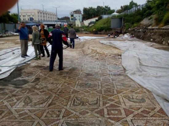 Plovdiv basilica mosaics 1 1