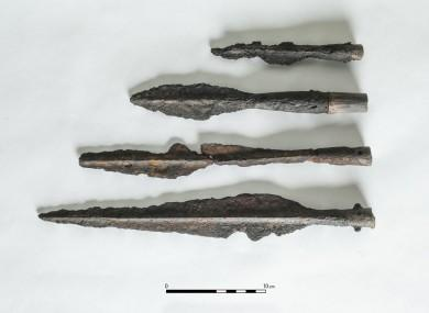 Possible iron age spearheads 390x285