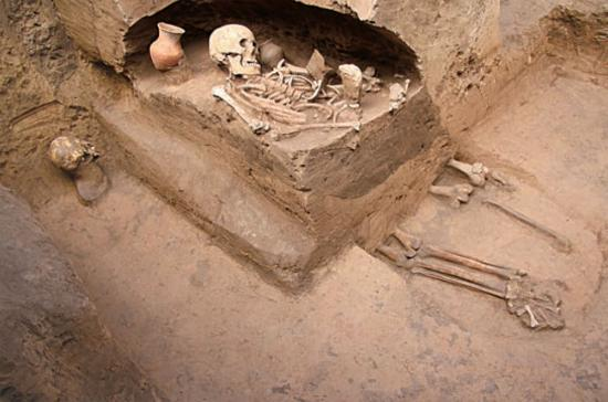 Prehistoric cemetery 1