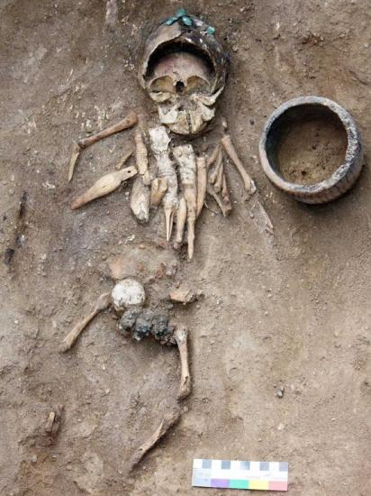 Prehistoric infant burial