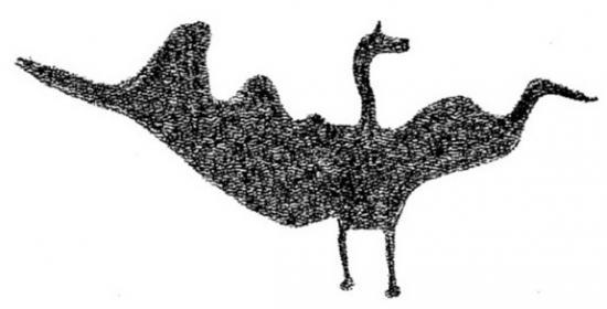 Pterosaur rock art 2