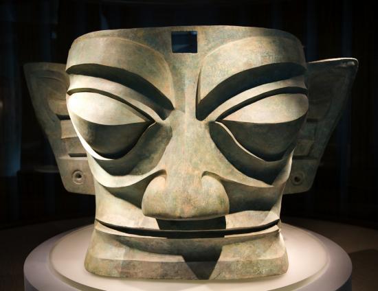 Sanxingdui mask shuttersock