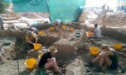 Tac cawla excavaton team