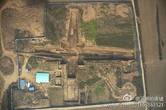 Tomb qin shi huangs grandmother has been discovered xi 1 1