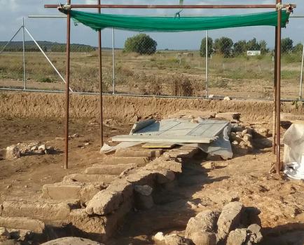 Tombe 11 encore en phase de fouilles