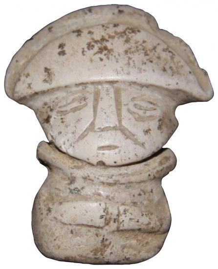 Trenches peru figurine