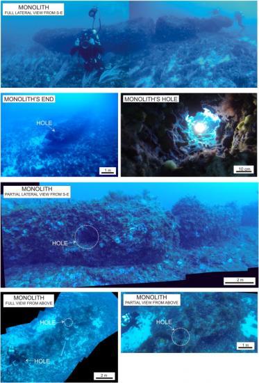 Underwater stonehenge 1