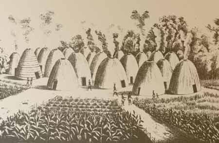 Wichita indian village 1850 1875